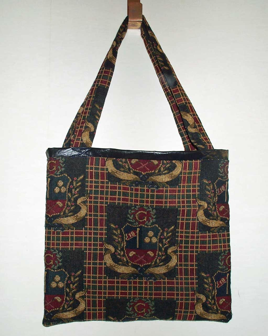 Primary image for Handmade Golf Tapistry Print Tote