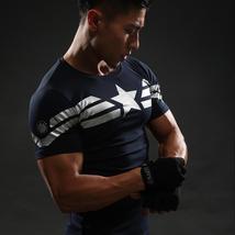 Captain America T Shirt 3D Printed T-shirts - £9.17 GBP+