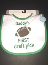 Koala Baby Boy Bib Keep Clean Water Resistant Football Sport Dads 1st Dr... - $8.00