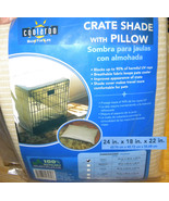 Coolaroo Crate cage Shade w Pillow 24 x 18 x 22 in - $19.99