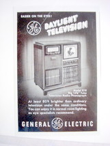 1949 General Electric Television Ad GE - $7.99