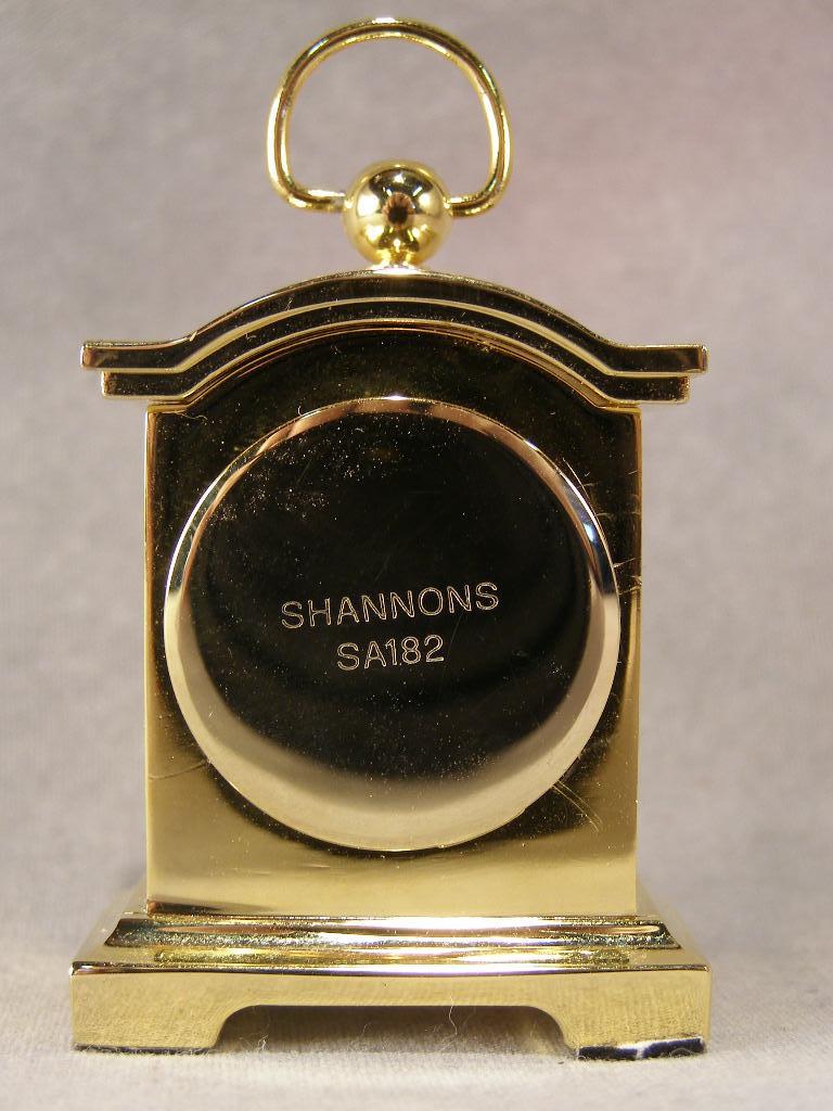 Miniature Mantle Clock - (sku#1643)