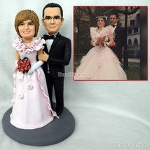 wedding cake topper motorbike motorcycle with riding horse ride polymer ... - $148.00
