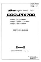 NIKON COOLPIX 700 DIGITAL CAMERA SERVICE REPAIR MANUAL - $7.95