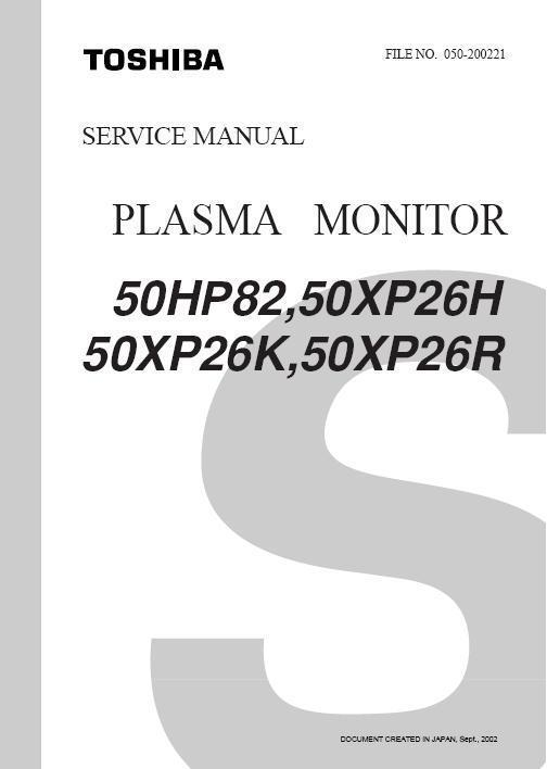 Toshiba 42wp36p plasma tv service manual download manuals & t.