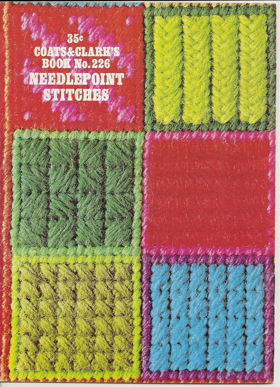 Needlepoint Stitches Coats & Clarks Book No 226 Vintage