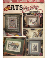 Cats Galore  66 Designs Leisure Arts Leaflet No 2821  - $5.00