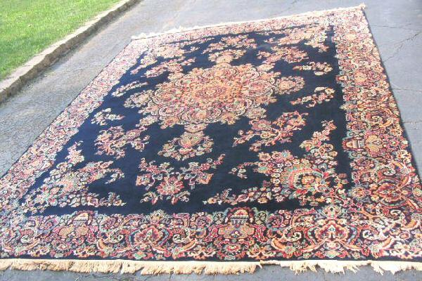 Vintage A&M Karagheusian Gulistan Wool Area Rug Carpet 9x12
