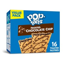 Pop-Tarts, Toaster Pastries, Frosted Chocolate Chip, 16 Ct - $7.00