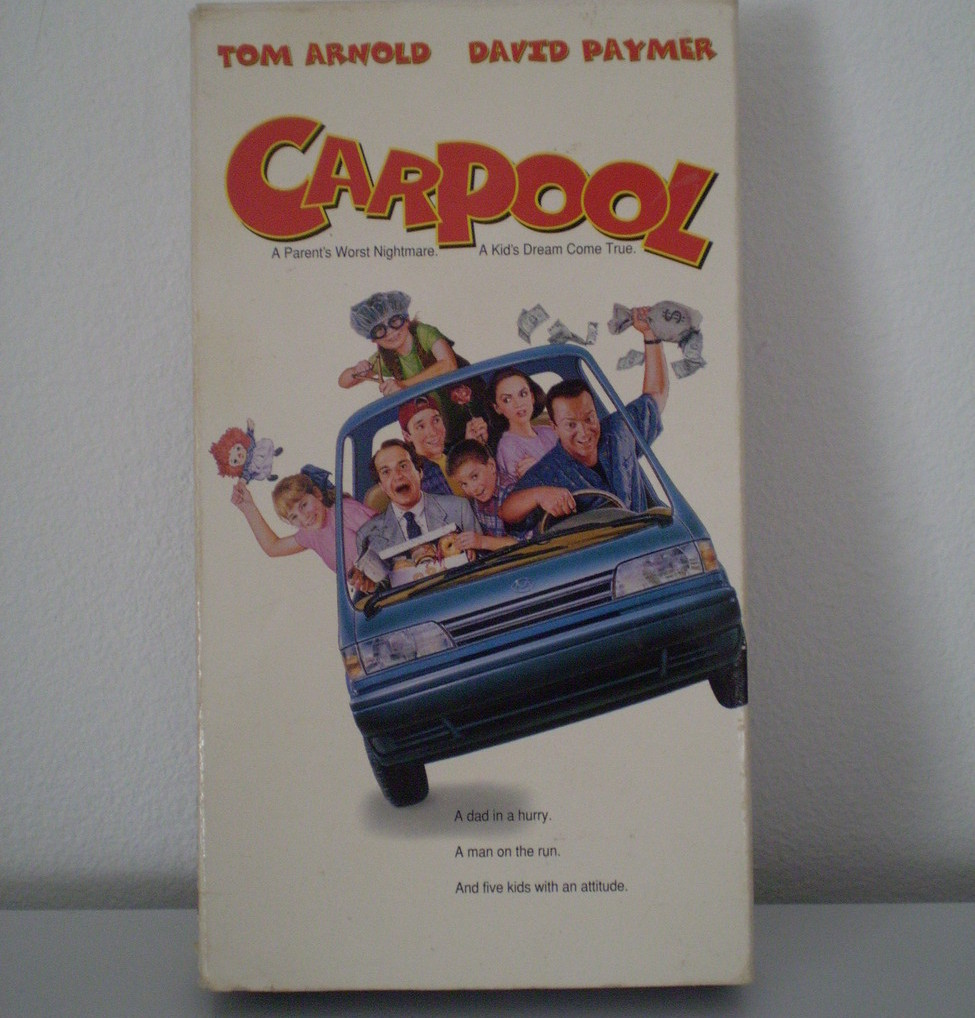 CARPOOL--Tom Arnold, David Paymer 1996 VHS