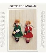 JAO Knit/Crochet Pattern STITCHING ANGELS Knit and Crochet! - $3.99