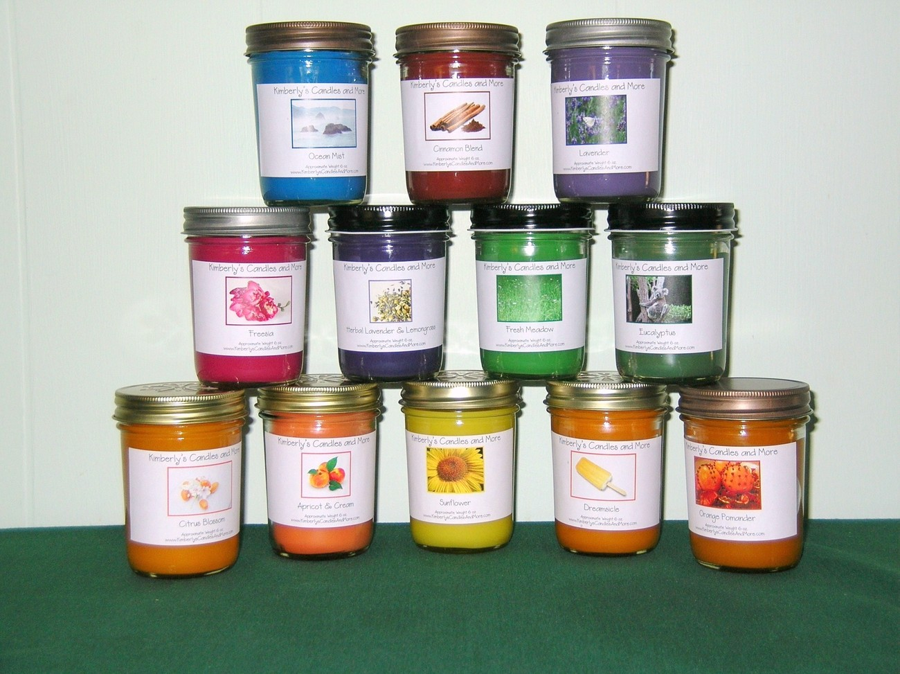 Eucalyptus PURE SOY Jelly Jar Candle