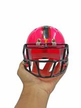 Mini Helmet American Football Dolls Home Decorate Sport Collectible Resi... - $23.75