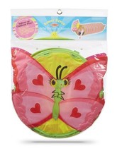 Melissa & Doug Sunny Patch Bella Butterfly Pink Pop Up Tunnel 3 to 7 Yea... - $42.33