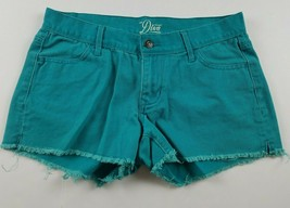 Old Navy Womens Jean Shorts Sz 4 Diva Blue Short Booty Mid Rise Denim Cu... - $16.04