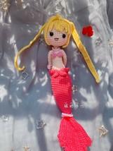 Handmade Mermaid Melody Pichi Pichi Pitch Hanon Luchia Crochet Pattern D... - $29.69+