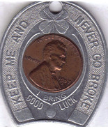 NEVER GO BROKE Wheat Back Penny Souvenir of NEW YORK CITY - $13.32 CAD