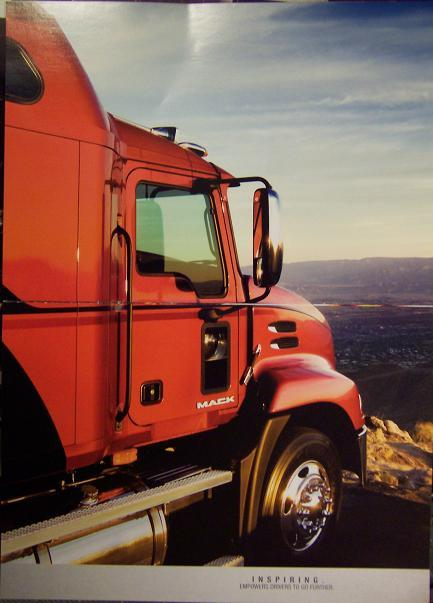 2006 Mack Pinnacle Daycabs and Sleeper Tractor Brochure - Full Color