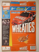 Empty Wheaties Box 2012 15.6oz Jeff Burton #31 Car [Z202d3] - $14.35