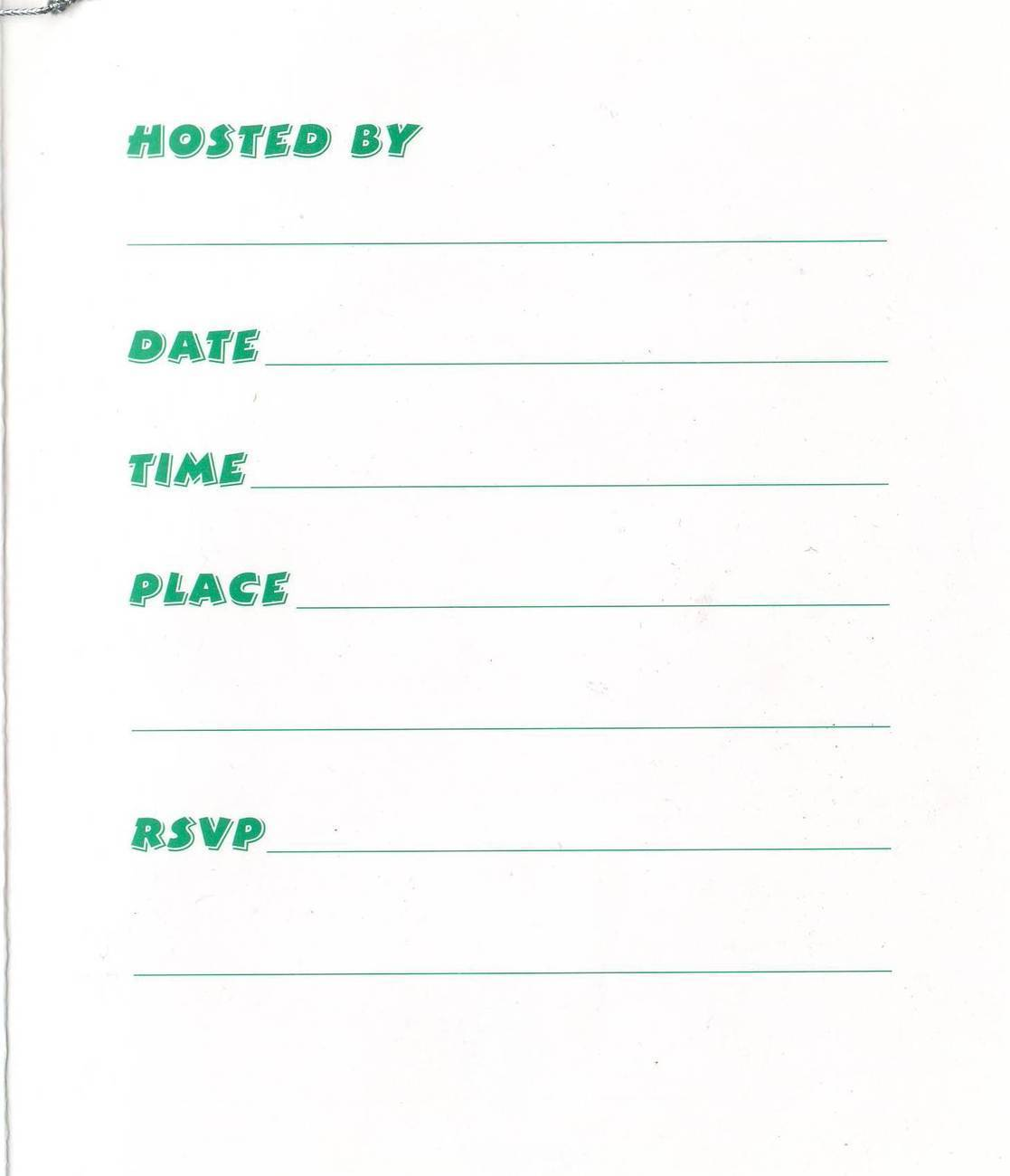 Jackpot Party Invitations - (8 count)