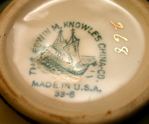 Cream Pitcher Edwin M. Knowles China Company and 48 similar items