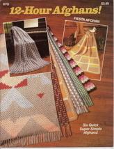 12 Hour Afghans 87Q Crochet Catalog 6 Crochet Patterns - $4.50