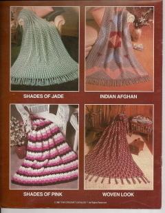 12 Hour Afghans 87Q Crochet Catalog 6 Crochet Patterns