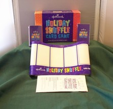 Holiday Shuffle Card Game Parker Brothers 2004 Decks Sealed - $9.00
