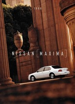 1996 Nissan MAXIMA sales brochure catalog 2nd Edition US 96 GXE SE GLE - $8.00