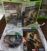 Captain America: Super Soldier CIB great shape (Microsoft Xbox 360, 2011) - $29.95
