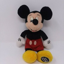 "Walt Disney World Mickey Mouse Plush 10"" Embroidered Foot RARE - $21.95"