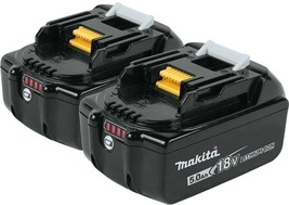 Makita Power Tool Battery Pack 18V Lithium-Ion Charge Level Indicator (2... - $229.95