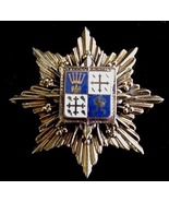 Old Coat Of Arms Enamel Pin Brooch Pendant Crest - Shield - $19.50