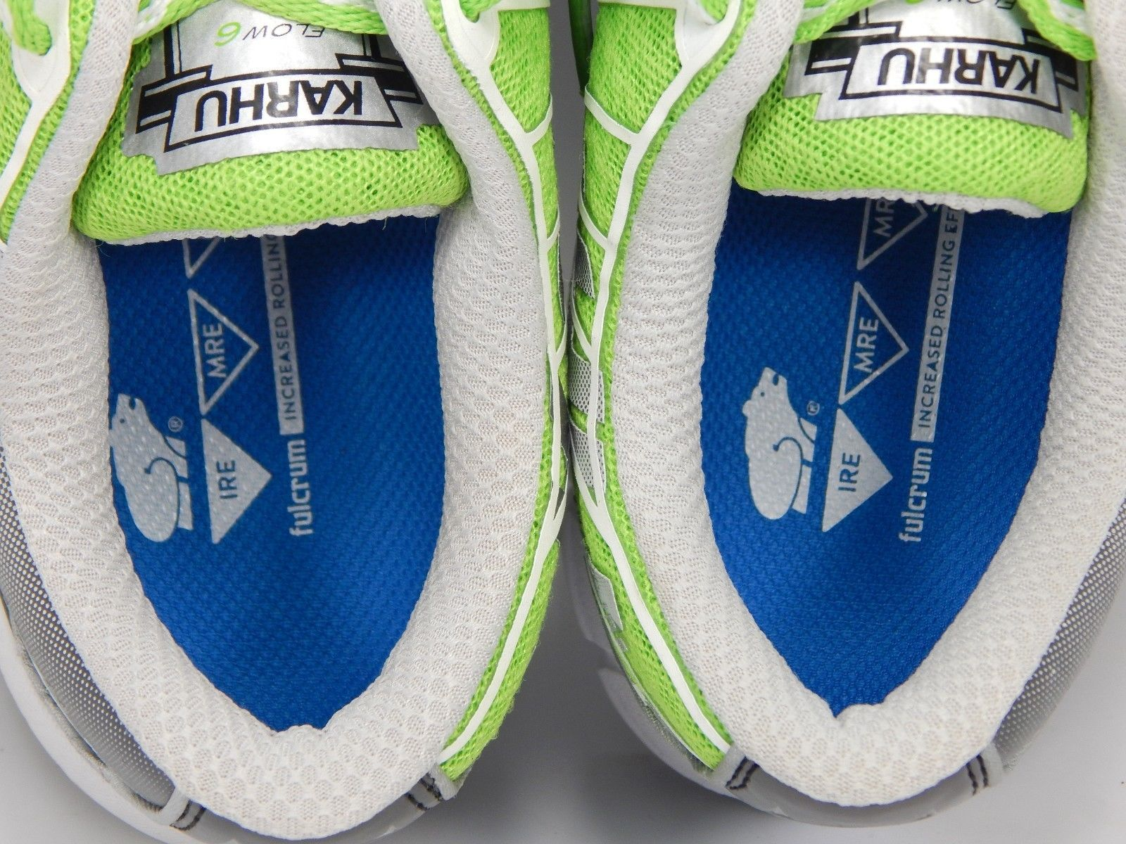 Karhu 2016 Flow 6 IRE Fulcrum Women's Running Shoes Size US 7 M (B) EU 38 Green