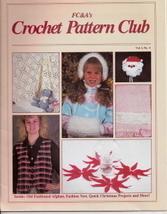 FC&As Crochet Pattern Club Vol 1 No 4 Holiday - $4.50