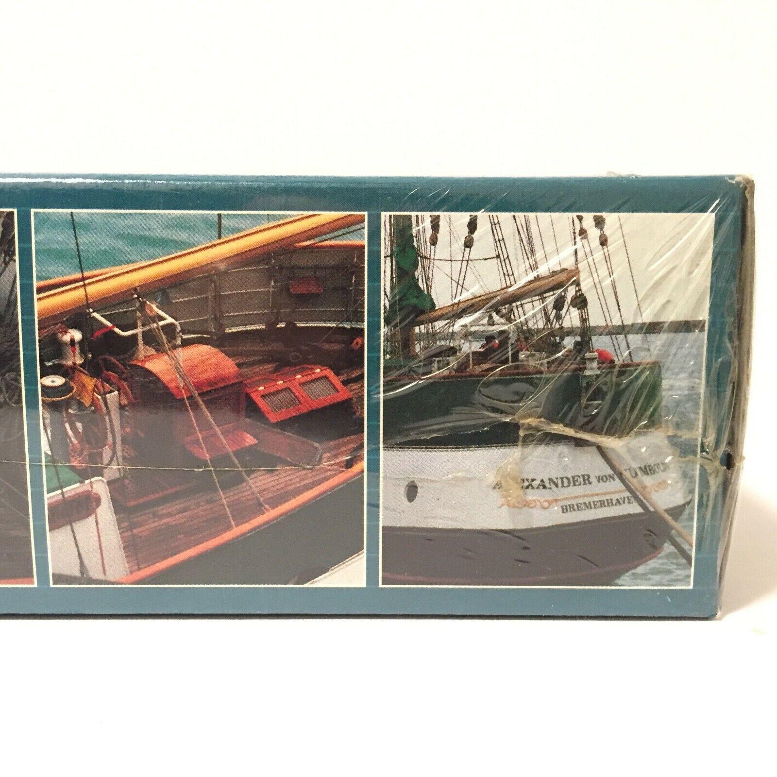 1993 Revell Alexander von Humboldt Ship Boat Model #05400 New Sealed   Free Ship