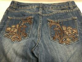 INC Denim Curvy Fit Boot Leg Blue Jeans Women's Size 6 - $16.52