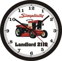 Simplicity Lanlord 2110 Lawn Tractor Wall CLOCK-FREE Us Ship - $26.72+