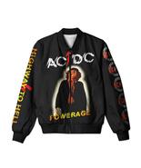 AC/DC (Powerage) Hard Rock Band All Over Print Monkey Jacket  - $57.99+