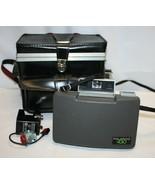 Vintage Polaroid 430 Automatic Land Camera with Hard Case External Flash... - $24.74