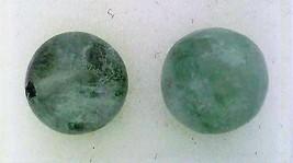 Fluorite Gemstone 8mm Stud Earrings 1 - $8.03