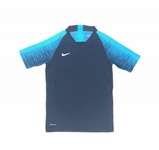 Nike Vaporknit Soccer Training DRI-FIT Shirt Youth Unisex M Navy AQ2711 ... - $14.79