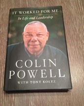 Colin Powell It Worked For Me First Edition Signed Autographed Copy HCDJ - $46.49