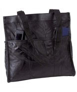 Embassy™ Italian Stone™ Design Genuine Leather Shopping/Travel Bag - $29.95