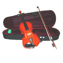 Crystalcello MV100 1/10 Size Solid Violin with Case and Bow - $35.00