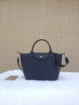 Longchamp Le Pliage Medium Graphite Grey Handbag Neo Shoulder Strap 1512... - $79.99
