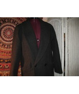 Donnybrook pure wool coat full length winter black sz 8 - $90.00