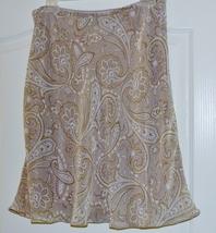 Express Ladies Paisley Skirt Size 6 - $13.95