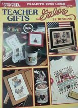 Leisure Arts Teachers Gifts Galore Cross Stitch Pattern 32 Designs 3018 New 1998 - $14.67