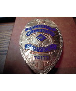 badge Wells Fargo Services security this is a numbered badge - €59,60 EUR